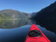 kayaking in misty fjords