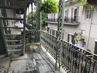 View from Antoine's balcony