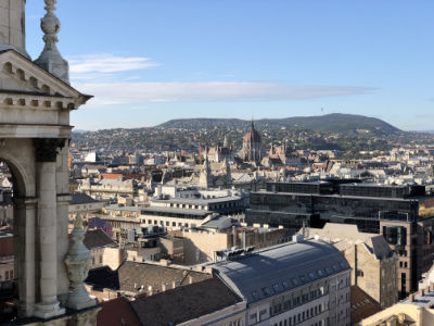 budapest from the basilica